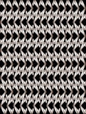 Silver twisted long rhombus background Stock Photography