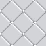 Silver upholstery pattern seamless Stock Images