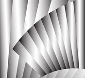 Silver vector background. Silver abstract background with stripes Stock Photography
