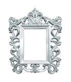 Silver vintage frame stock images
