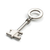 Silver Vintage Key Royalty Free Stock Photos