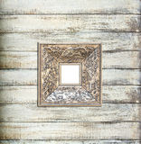 Silver Vintage picture frame Royalty Free Stock Photo