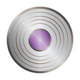 Silver_vinyl Photos libres de droits