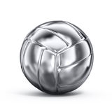 Silver volleyball Stock Photography