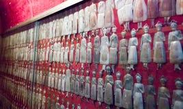 silver votives, Naples Stock Image