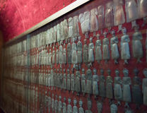 silver votives, Naples Stock Images