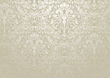 Silver Wallpaper Royalty Free Stock Photography