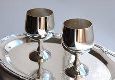 Silver ware Stock Image
