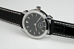 Silver watch Stock Photos