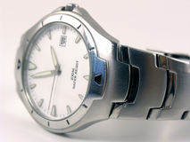 Silver Watch royalty free stock photography
