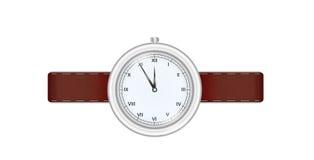Silver watch Zdjęcia Stock