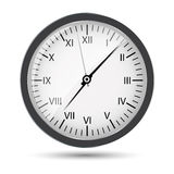 Silver watch vector illustration Stock Photography