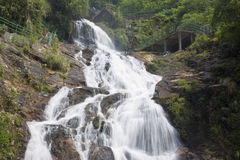 Silver waterfall Royalty Free Stock Photos