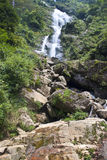 Silver waterfall in Sapa Stock Image