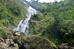 Silver waterfall in Sapa Royalty Free Stock Images