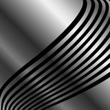 Silver wave background Royalty Free Stock Photography