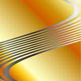 Silver wave background Royalty Free Stock Images