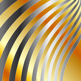 Silver wave background Stock Photography