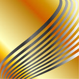 Silver wave background Royalty Free Stock Image