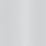 Silver wave pattern Stock Photos