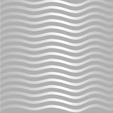 Silver wave pattern Stock Images