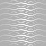 Silver wave pattern Royalty Free Stock Images