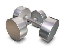 Silver weights Stock Photos