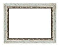 Silver white frame royalty free stock photos