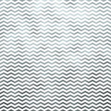 Silver White Metallic Faux Foil Chevron Pattern Royalty Free Stock Image
