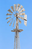 Silver Windmill Royalty Free Stock Photography