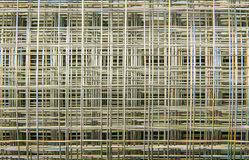 Silver wire net Royalty Free Stock Photos