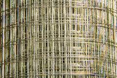 Silver wire net Stock Photo