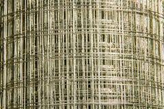 Silver wire net Stock Photo