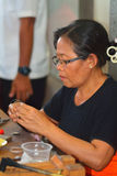 Silver workshop, Celuk,  Bali, Indonesia Stock Images
