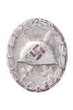 Silver Wound Badge Royalty Free Stock Image