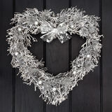 Silver Wreath Stock Photography