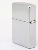 Silver zippo lighter Stock Photo