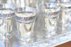 Silverbägare Royaltyfria Bilder