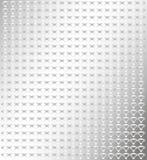 Silverbakgrund med den lilla modellen Royaltyfri Bild