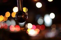 Silverball en la noche Fotografía de archivo