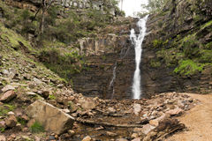 Silverband Falls, Grampians Royalty Free Stock Photos
