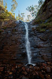 Silverband Waterfall in Grampians National Park Royalty Free Stock Photography