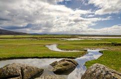 Silverdale coastline in Cumbria Stock Photo