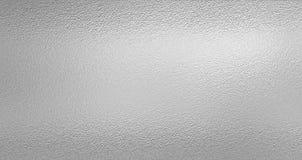 Silverfolietexturbakgrund Arkivfoton