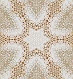 Silvergrå färger för sömlös brunt för stjärnamodell Arkivbild