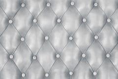 Silverläderbakgrund, grå lyxig textur för platina fotografering för bildbyråer