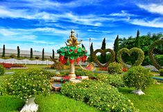 Silverlake,芭达亚曼谷 免版税库存照片