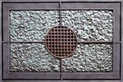 Silvermetallbakgrund Arkivbild