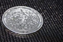 SilvermyntcryptocurrencyJOTA MIOTA arkivfoto