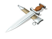 Silvern dagger Stock Photo